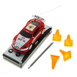 Mini RC Car 1:58 Scale with Soda Can Storage Case