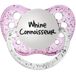 Personalized Pacifiers Whine Connoisseur Pacifier