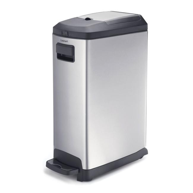 Cuisinart Stainless Steel 35-liter/ 9-gallon Trash Can