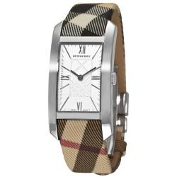 Burberry Women's 'Signature' Checked Strap Watch