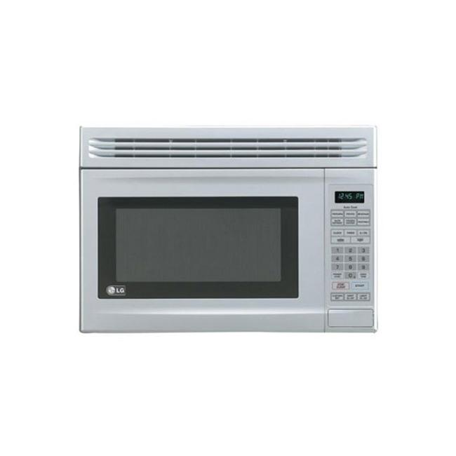 LG LMV1314SV Stainless Steel 1.3-cu-ft Over-the-range Microwave Oven