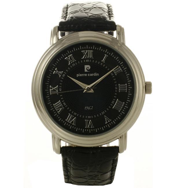 Pierre Cardin Men's Dress Leather Watch