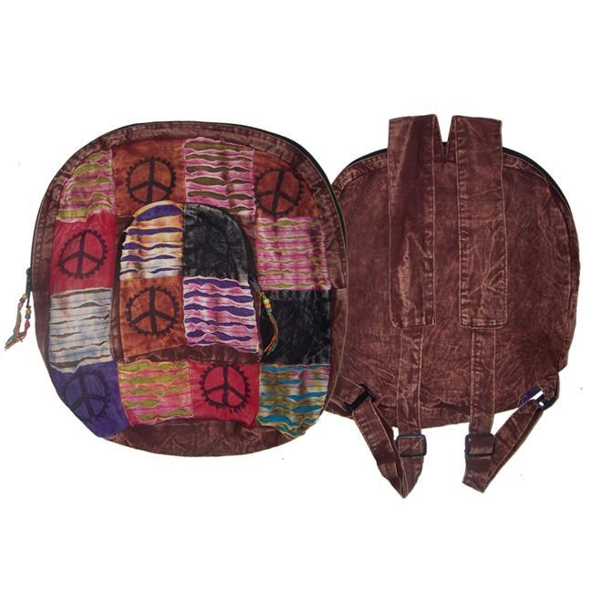 Rajor Cut Peace Sign Backpack (Nepal)