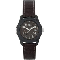 Timex Women's T49692 Expedition Trail Series All Black Nylon Strap Watch
