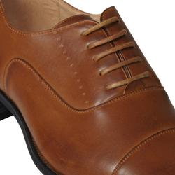 Boston Traveler Men's Laced Almond-toe Oxfords