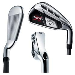 Callaway Men's RAZR X 4-PW Steel Shaft Iron Set