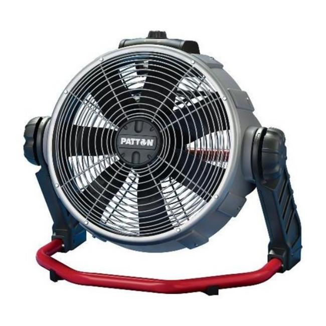 Patton px306tg2 u 14 inch high velocity floor fan for 14 inch chrome floor standing fan