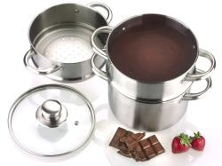 Fagor Double Boiler with Steamer Insert
