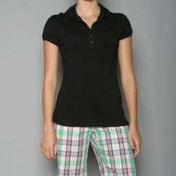 Golftini Women&#39;s Black Fashion Top Golf Shirt
