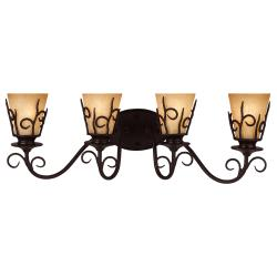Alpine Blacksmith 4-light Bath Sconce