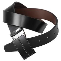 Boston Traveler Men's Reversible Leather Belt