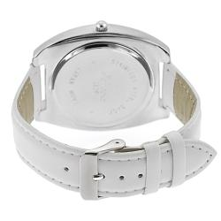 Geneva Platinum Women's Rhinestone-accented Watch