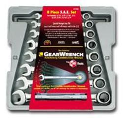 KD Tools 8 Piece SAE Combination GearWrench Set