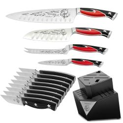 Guy Fieri 13-piece Knife and Block Set