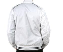 191 Unlimited Men's White Baseball Jacket