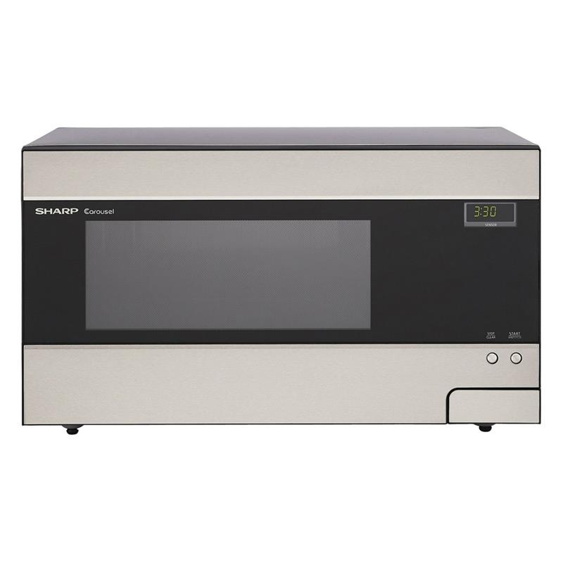 Sharp Countertop Microwave Dimensions : Sharp R426LS Family-size 1.4-cubic-foot Countertop Microwave Oven ...