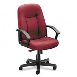 Basyx VL601 Series Managerial Mid-back Swivel Chair