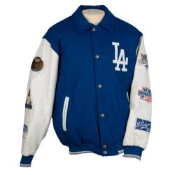 Los Angeles Dodgers Five-time World Series Champions Varsity Jacket