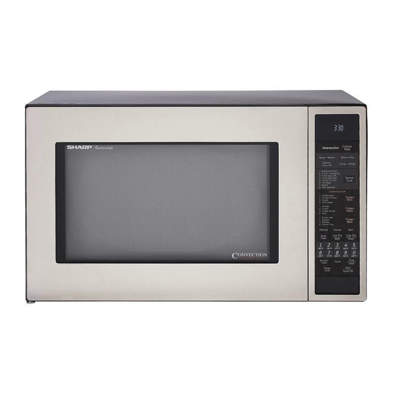 Overstock.com Sharp R930CS Stainless Steel 1.5-cu-ft 900-watt Convection Microwave at Sears.com