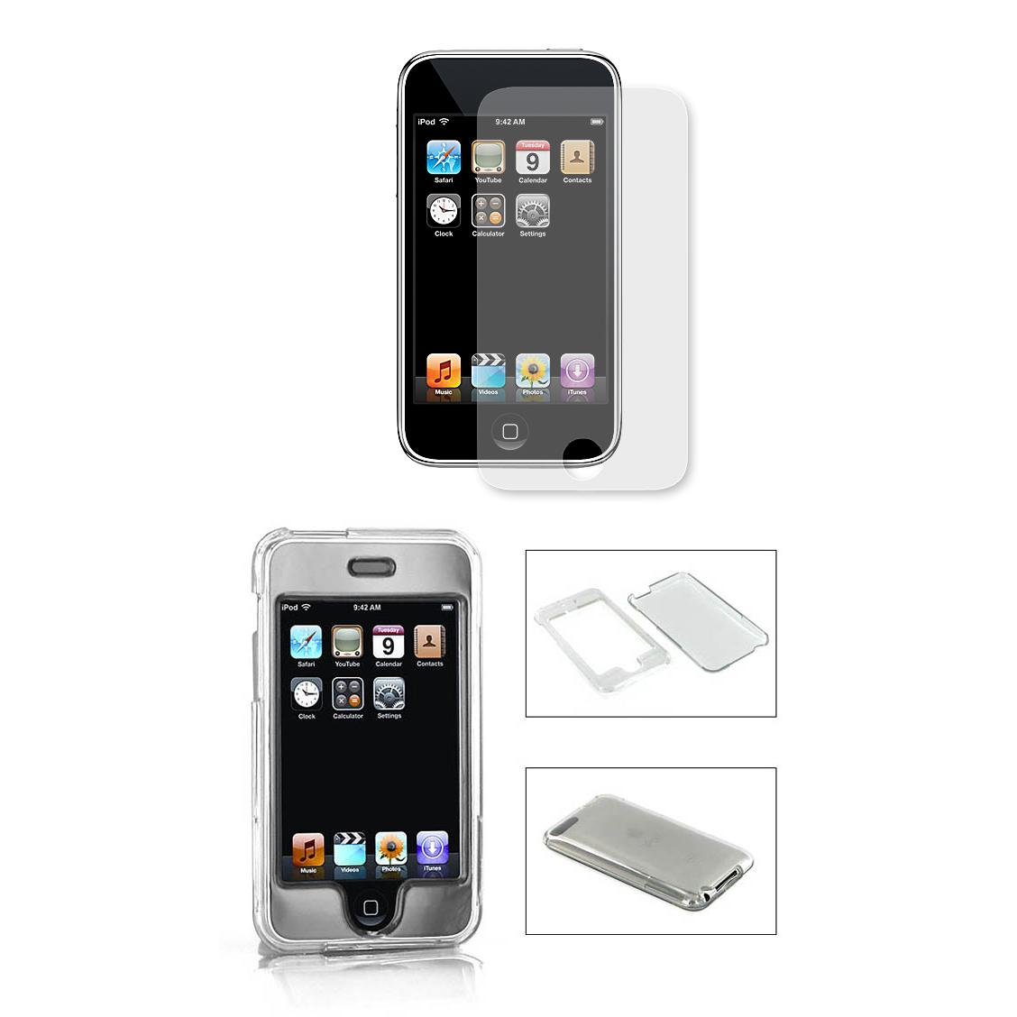 Apple iPod Touch 3rd Generation Protector Case with Screen Protector