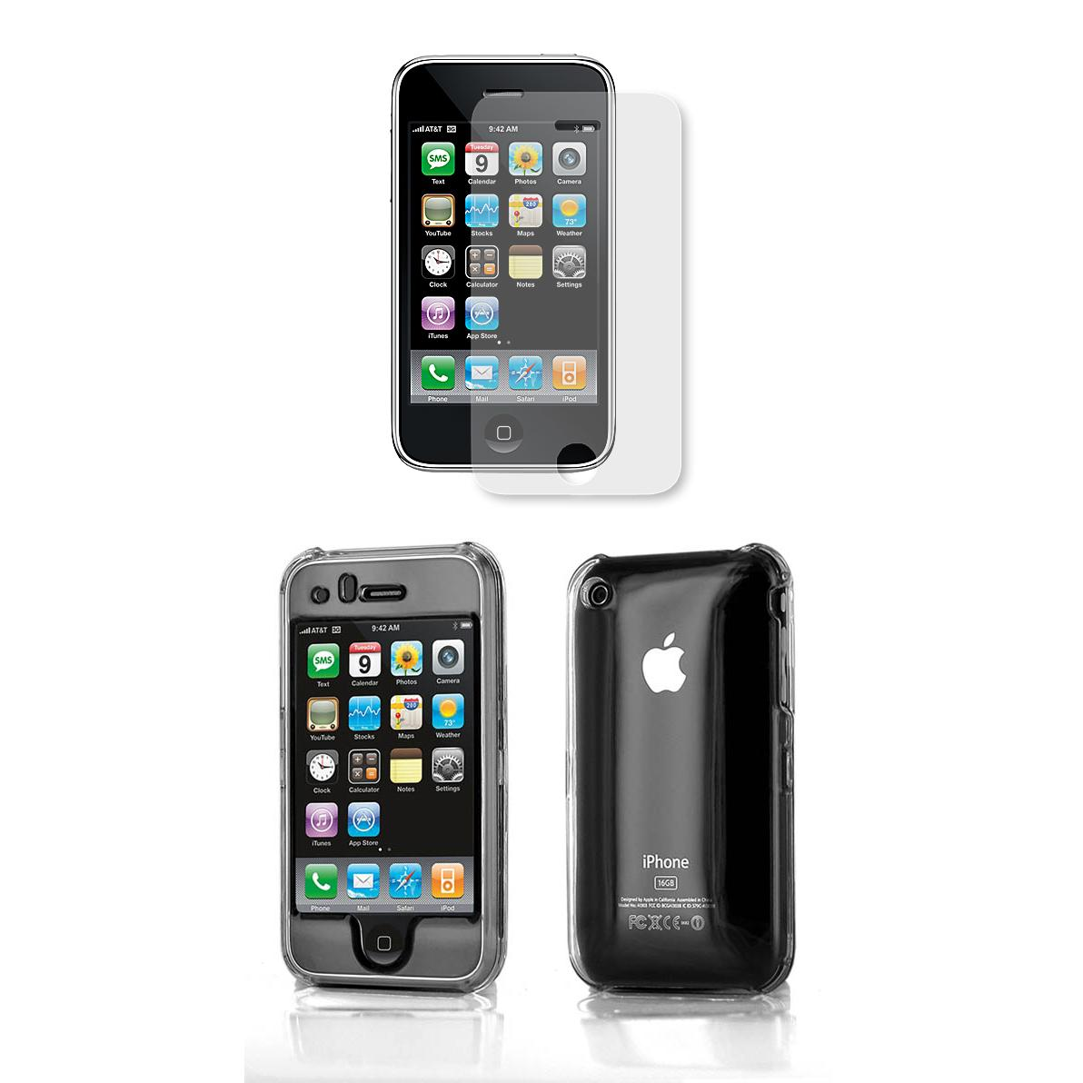 Apple iPhone 3rd Generation Protector Case with Screen Protector