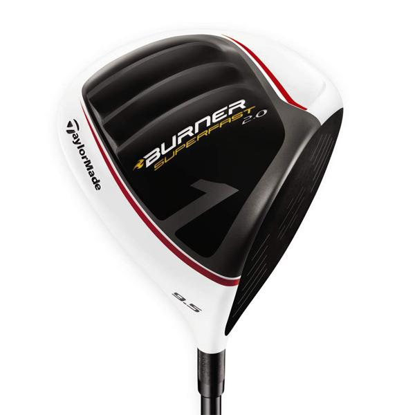 TaylorMade Men's Burner SuperFast 2.0 Driver