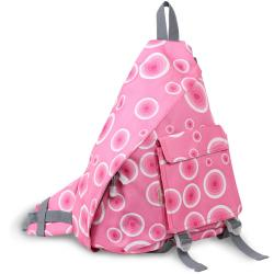 J World 'Kitten' Pink Target 19-inch Sling Bag
