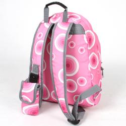 J World 'Rosewalk' Pink Target Mini Backpack