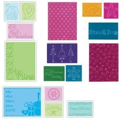 Sizzix Textured Impressions Value Kit 3