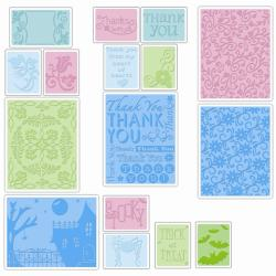 Sizzix Textured Impressions Value Kit 5