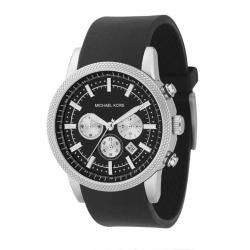 Michael Kors Men's Black Chronograph Watch