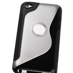 TPU Rubber Case/ Mirror Screen for Apple iPod Touch 4th Gen