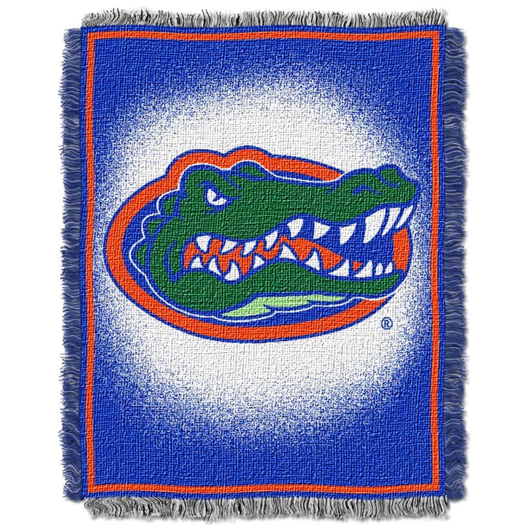 Northwest Florida Gators Focus Jacquard Throw