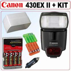 Canon Speedlite 430EX II Flash with Accessory Kit