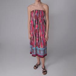 Happie Brand Junior's Smocked Tube Dress