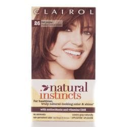 Natural Instincts Hair Color on Clairol Natural Instincts  26 Hot Cocoa Hair Color  Pack Of 4