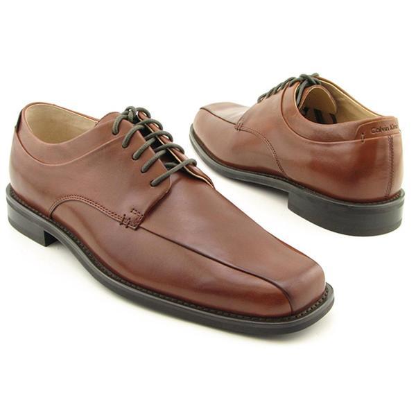 Calvin Klein CK Men's 'Horatio' Leather Dress Shoes