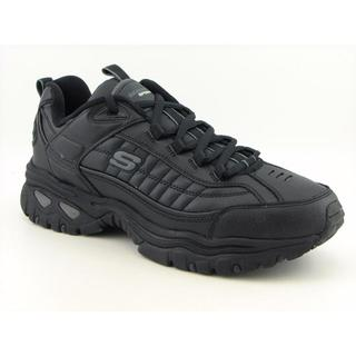 Skechers USA Sport Men's 'Energy-After Burn' Leather Athletic Shoe (Size 9) Wide