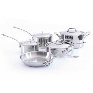 Mauviel M'Cook 5-ply 9-piece Cookware Set