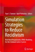 Simulation Strategies to Reduce Recidivism: Risk Need Responsivity (RNR) Modeling for the Criminal Justice System (Hardcover)