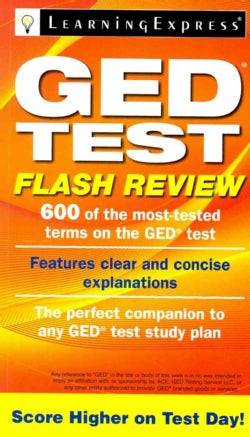 GED Test Flash Review (Paperback)