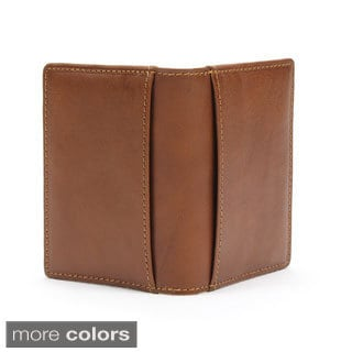 Prima Italiano Cognac Leather Weekend Wallet