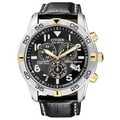 Citizen Men&#39;s Stainless Steel Eco-Drive Chronograph Watch