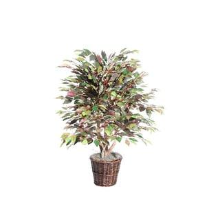 4-foot Mystic Ficus Extra Full Decorative Plant