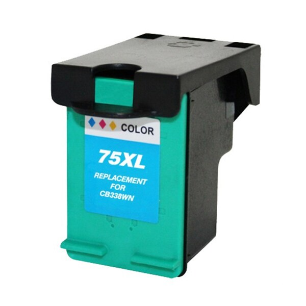 HP 75XL/ CB338WN High Yield Color Ink Cartridge (Remanufactured)
