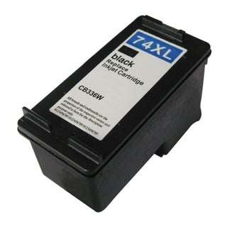 HP 74XL/ CB336WN High Yield Black Ink Cartridge (Remanufactured)