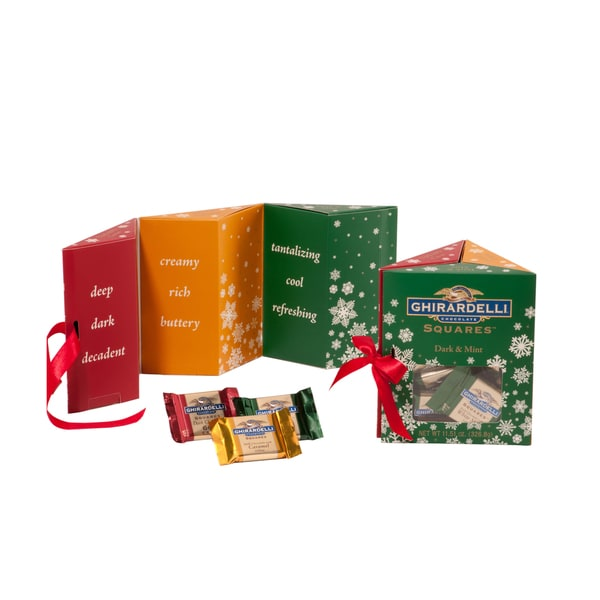 Ghirardelli Holiday Trio Window Gift Box