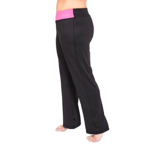Taffy Activewear Women's Plus Essential Bootcut Pants