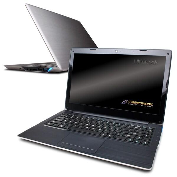"CYBERPOWERPC Zeus-M U1800 Intel i5 1.7GHz 120GB 14"" Ultrabook"