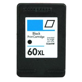 HP 60XL/ CC641WN High Yield Black Ink Cartridge (Remanufactured)
